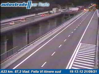 A23 km. 87,2 Viad. Fella VI